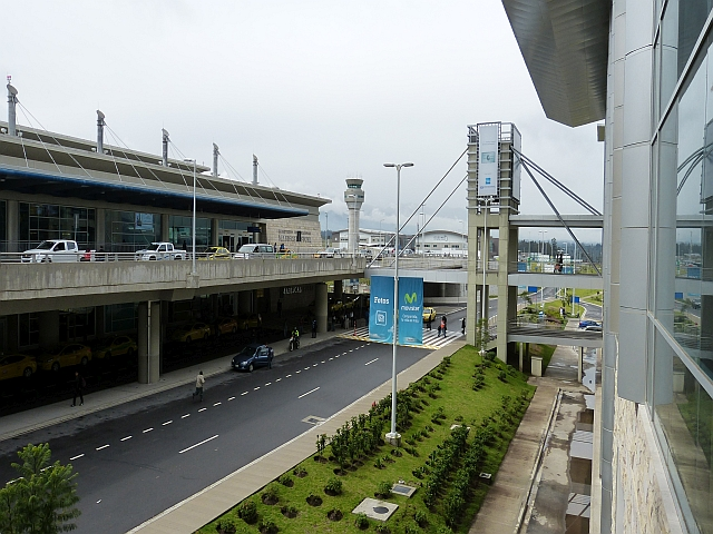 Flughafen Quito Ecuador
