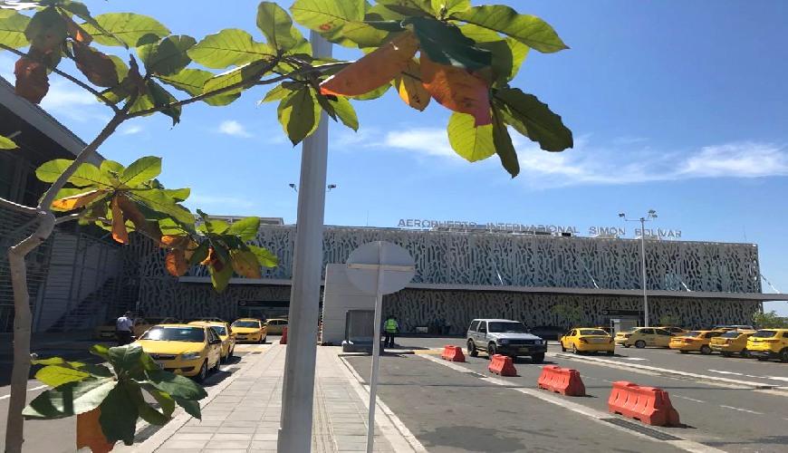 Flughafen Santa Marta Kolumbien