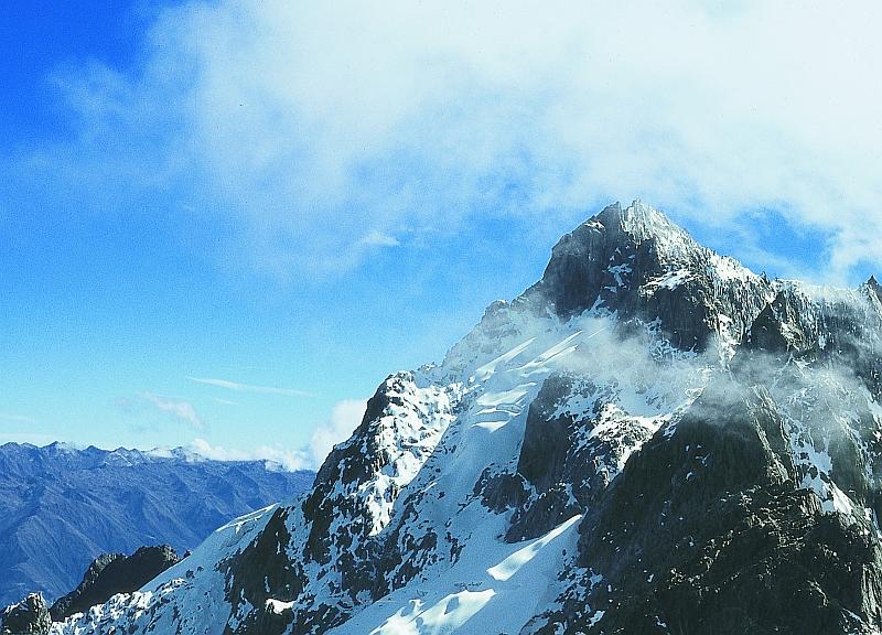 Pico Bolívar, höchste Berg in Venezuela,