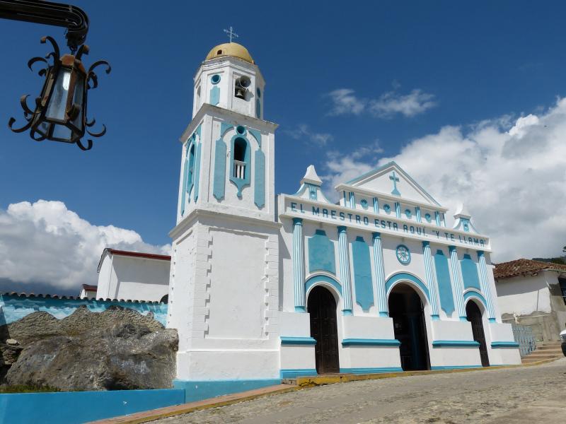 Bunte Dorf Jají, bei Mérida, Venezuela