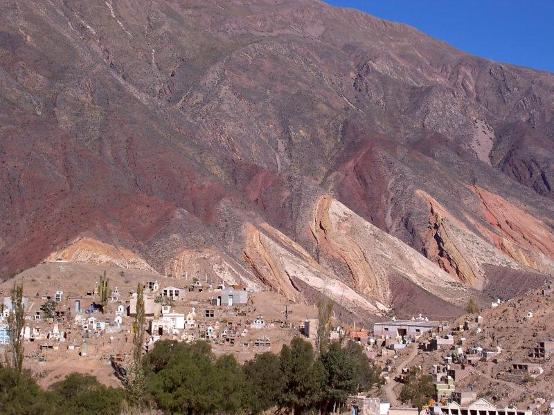 Dorf Purmamarca, Salta, Argentinien