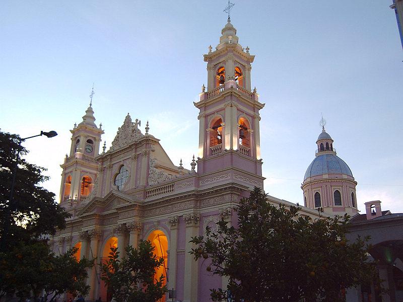 Stadtzentrum Salta, Argentinien