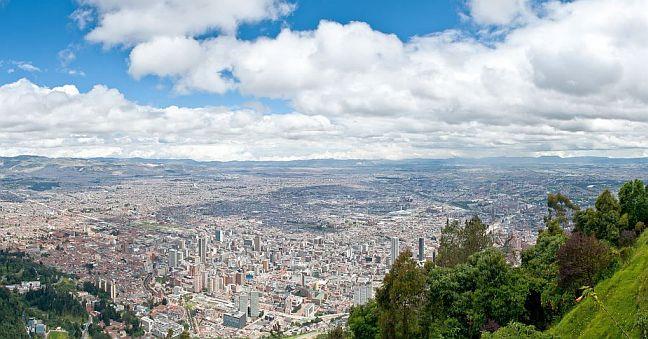 Bogotá, Hauptstadt von Kolumbien