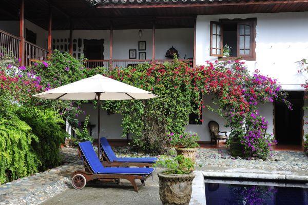 Hacienda im Kaffeedreieck, Kolumbien