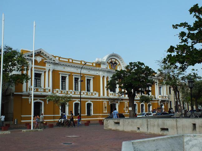 Kolonialhaus in Santa Marta, Kolumbien