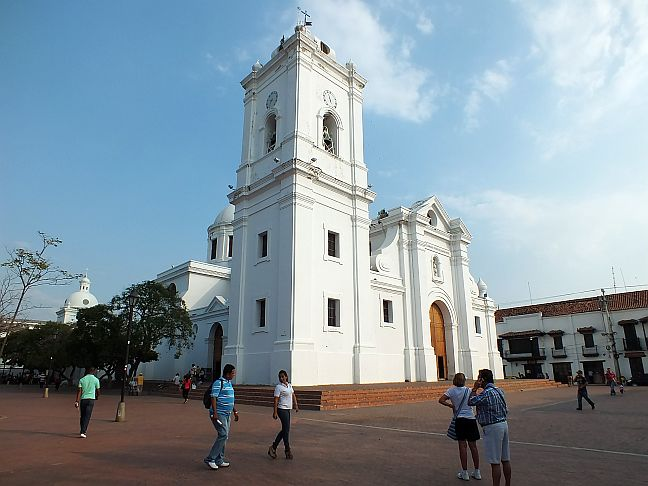 Kathedrale in Santa Marta, Kolumbien