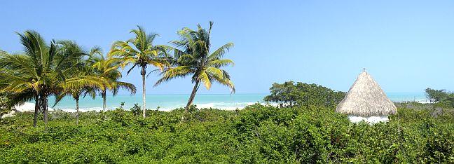 Strand im Nationalpark Tayrona, Kolumbien
