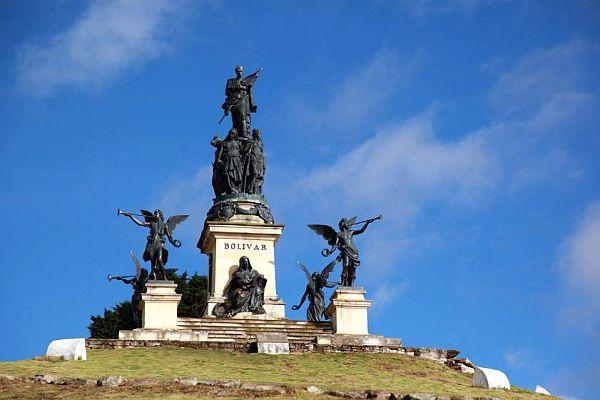 Statur von Simón Bolívar, Kolumbien