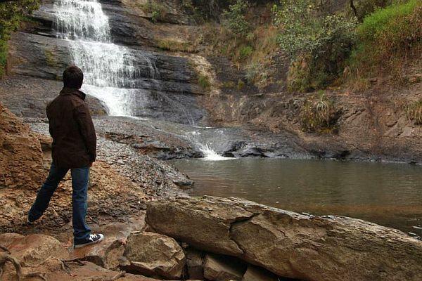 Wasserfall in der Sierra Nevada de Cocuy, Kolumbien