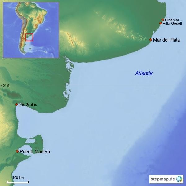Badeorte Argentinien