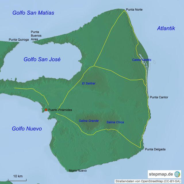 Halbinsel Valdés