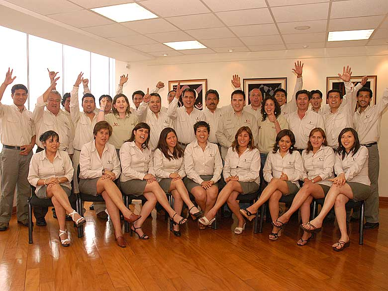 Unser Team in Peru