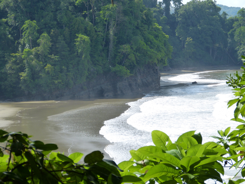 Strand Playa de Arco bei Uvita, Costa Rica