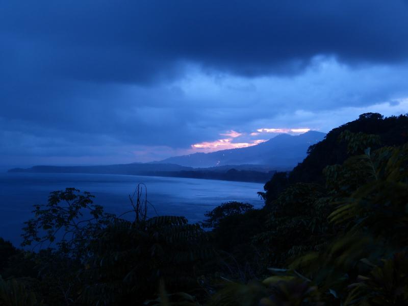 Sonnenuntergang Punta Uvita, Costa Rica