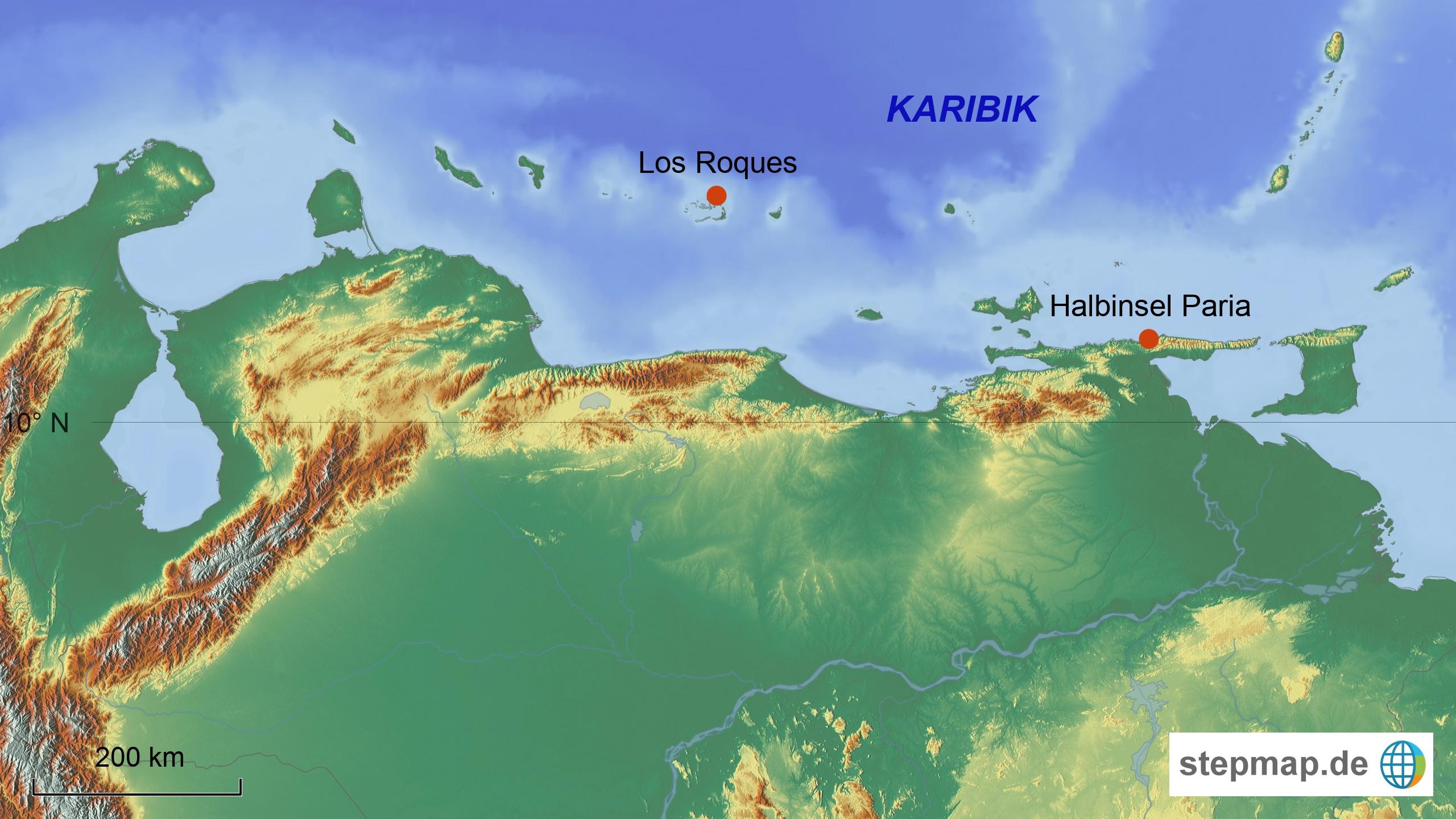 Badeorte Venezuela